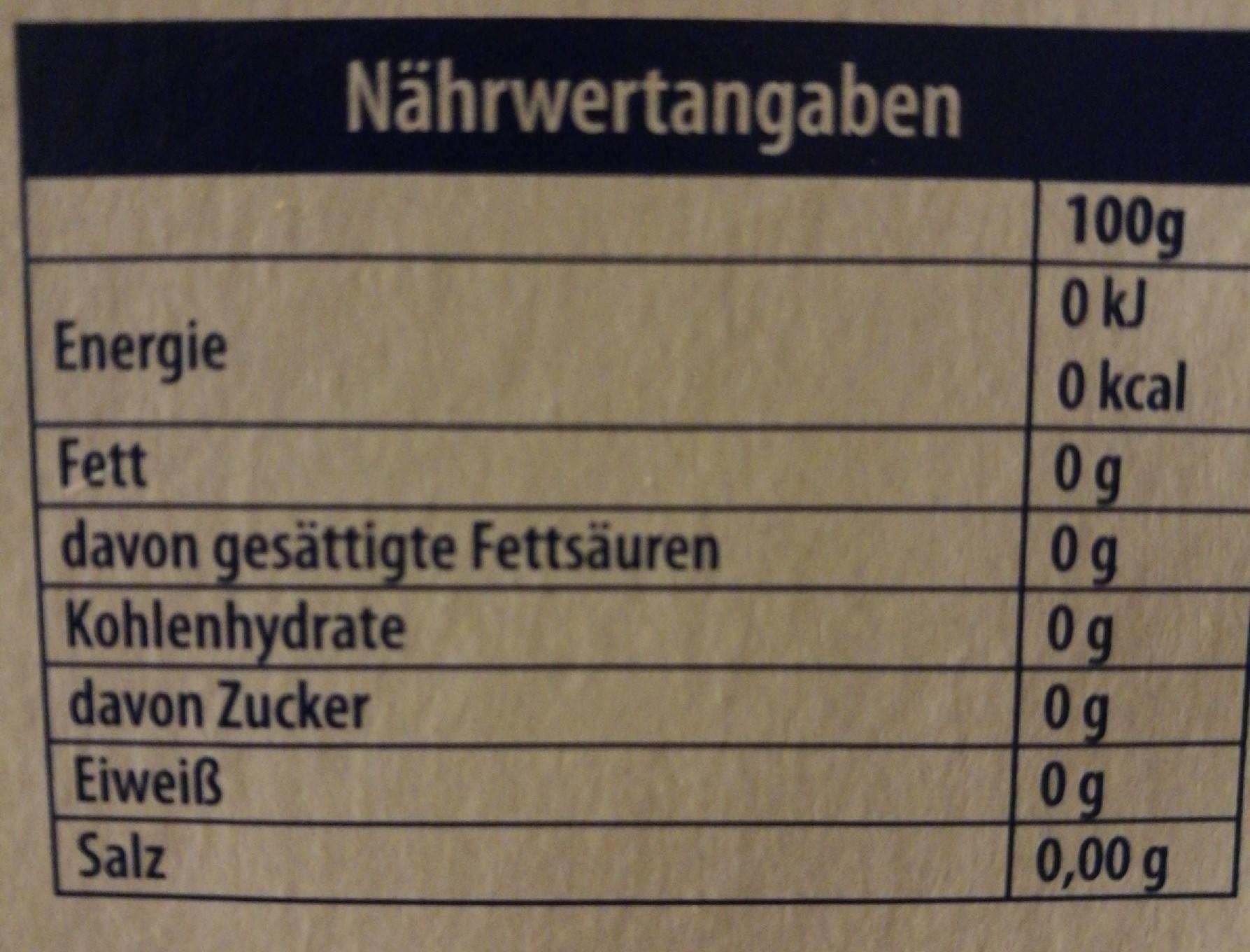 Falim Chewing Gum Sugarfree - Informations nutritionnelles - de
