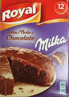 Tarta de chocolate con Milka - Product