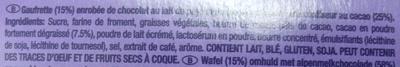 Leo chocolicious - Ingredients - fr