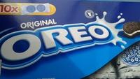 Oreo cookies vanilla - Product