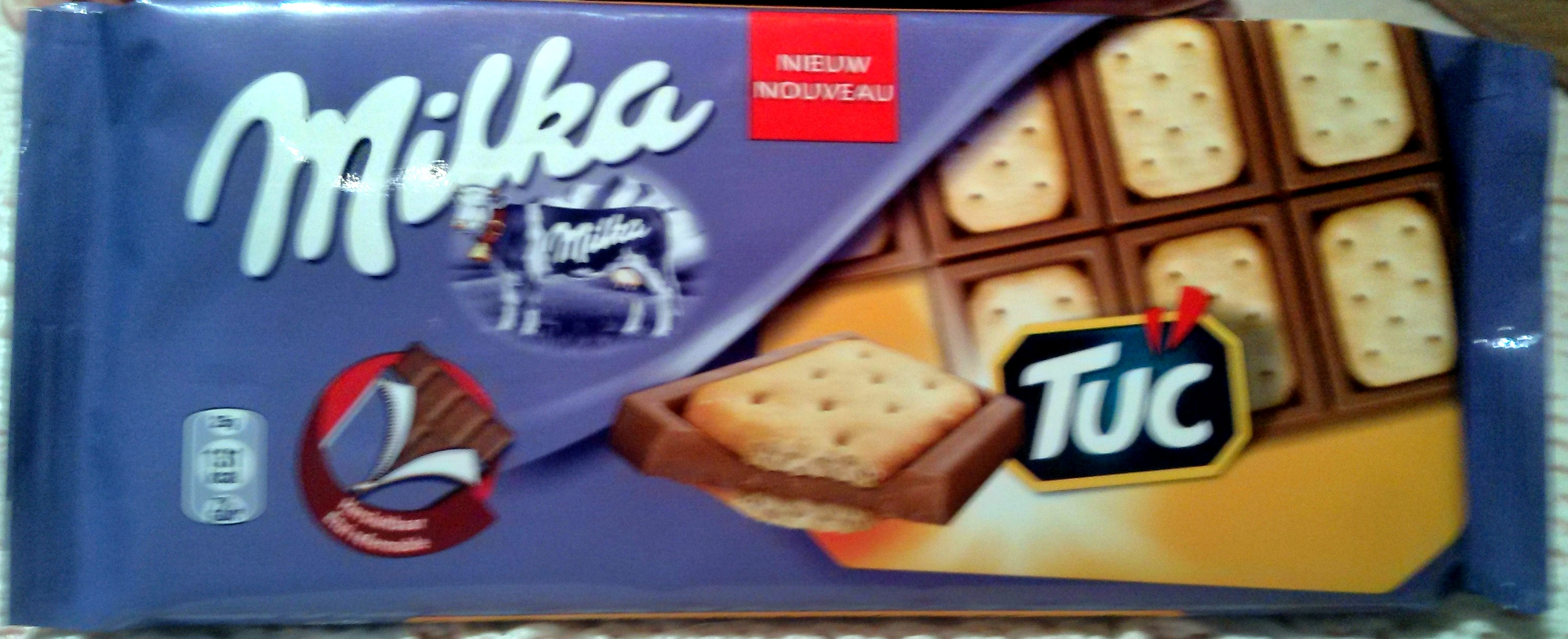 milka avec tuc - Produit