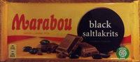 Marabou Black saltlakrits - Product