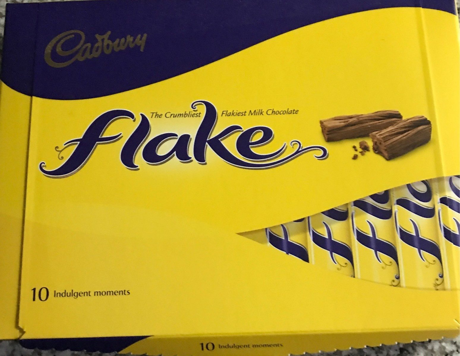 Flake chocolate
