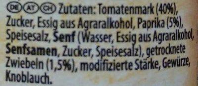 Steakhouse BBQ Pikante Paprika - Ingredients