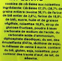 Digestive Go! - Ingrediënten - fr