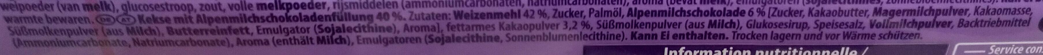 Choco Pause - Ingredienti - de