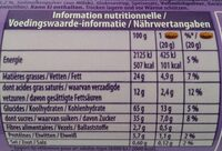 Choco Pause - Valori nutrizionali - de