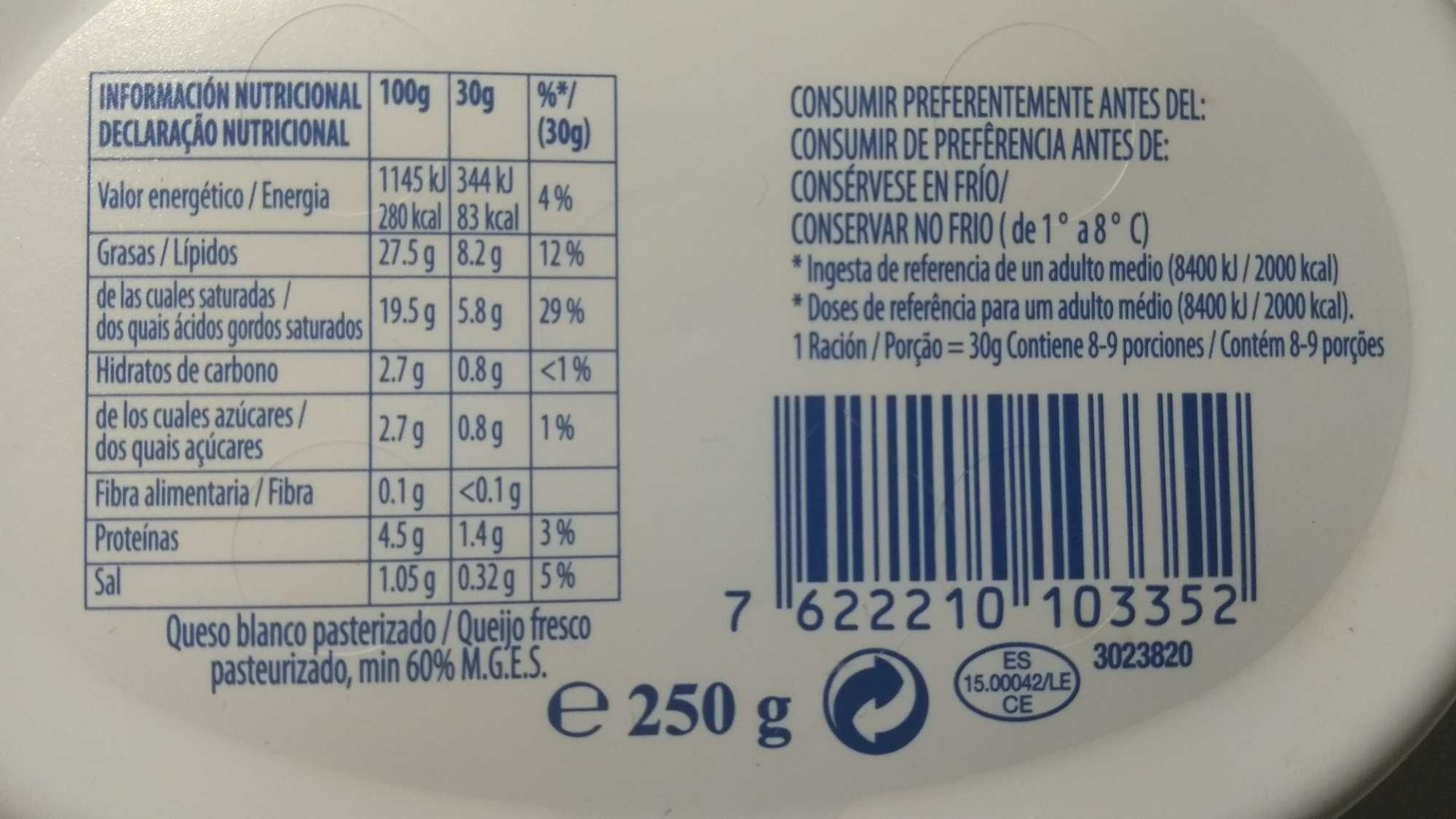 Cream cheese - Product
