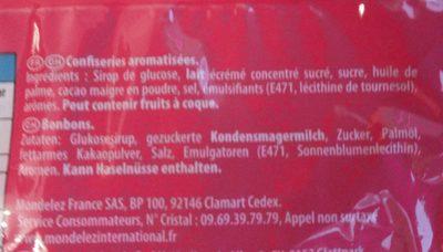 Carambar Caramel L'original - Ingrediënten