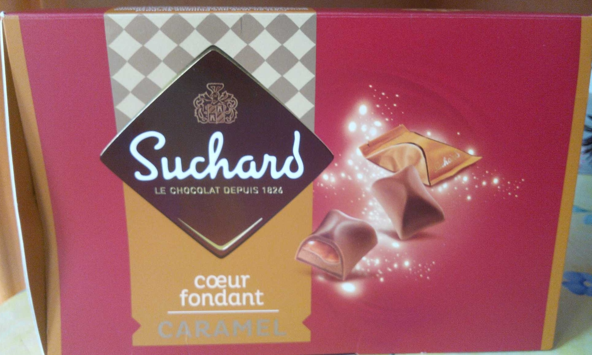 Coeur fondant caramel - Produit - fr