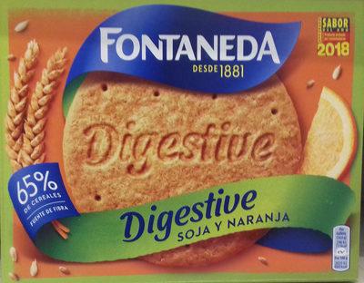 Galletas Digestive Soja y Naranja - Producto