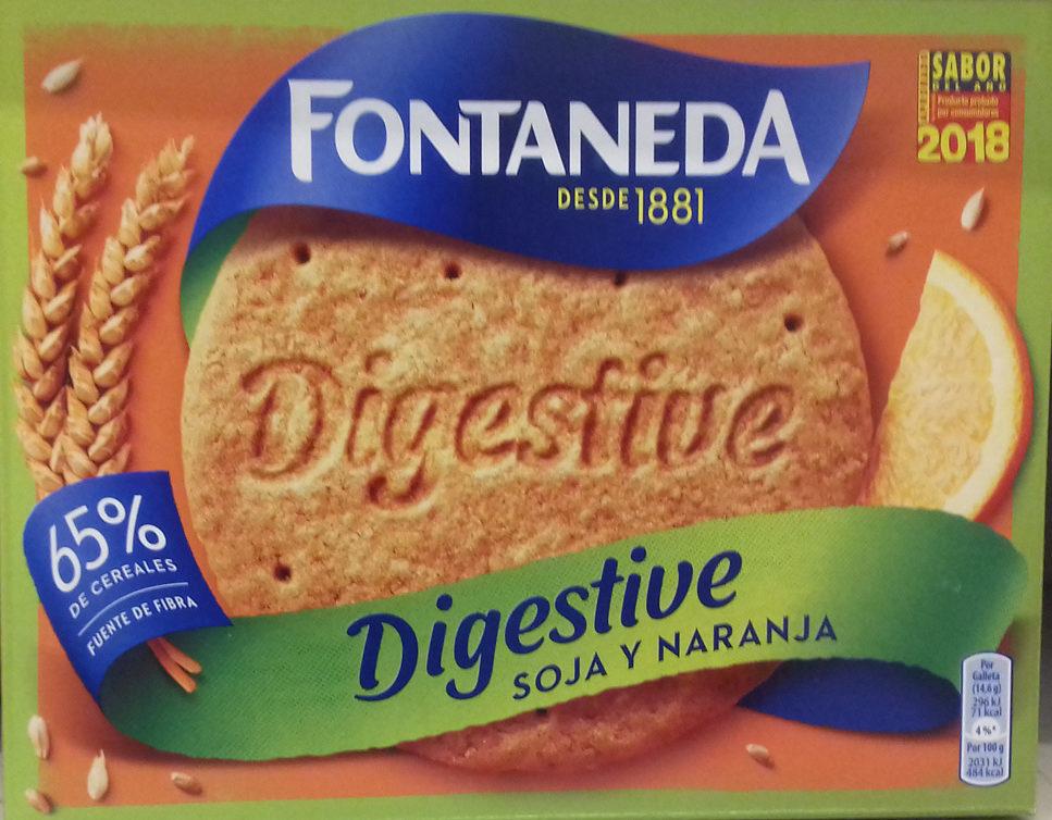 Digestive soja y naranja - Producto - es
