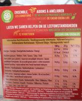 Bouchées Lait 8-pack - Voedingswaarden