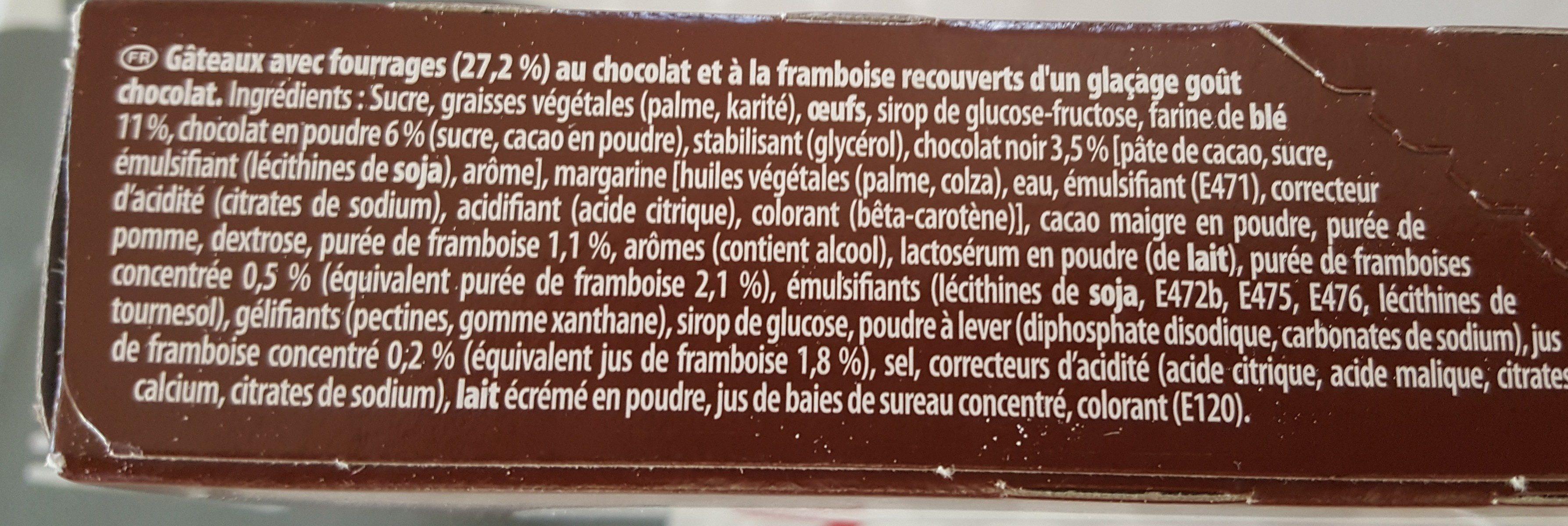 Napolitain Signature Chocolat Framboise - Ingrédients