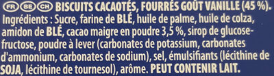 Double Oreo - Ingrédients - fr