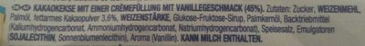 Oreo Double Cream - Ingrediënten