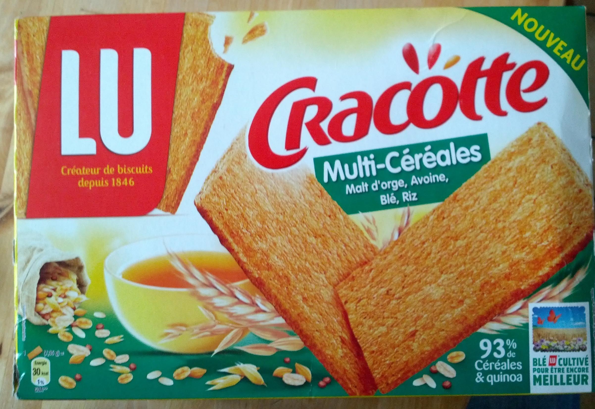 Cracottes Multi-Céréales - Product - fr