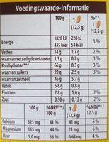 Belvita breakfast - Nutrition facts - en