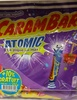 Carambar atomic- Confiseries aromatisées parfums assortis - Product