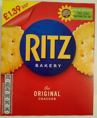 Ritz crackers original - Product - en