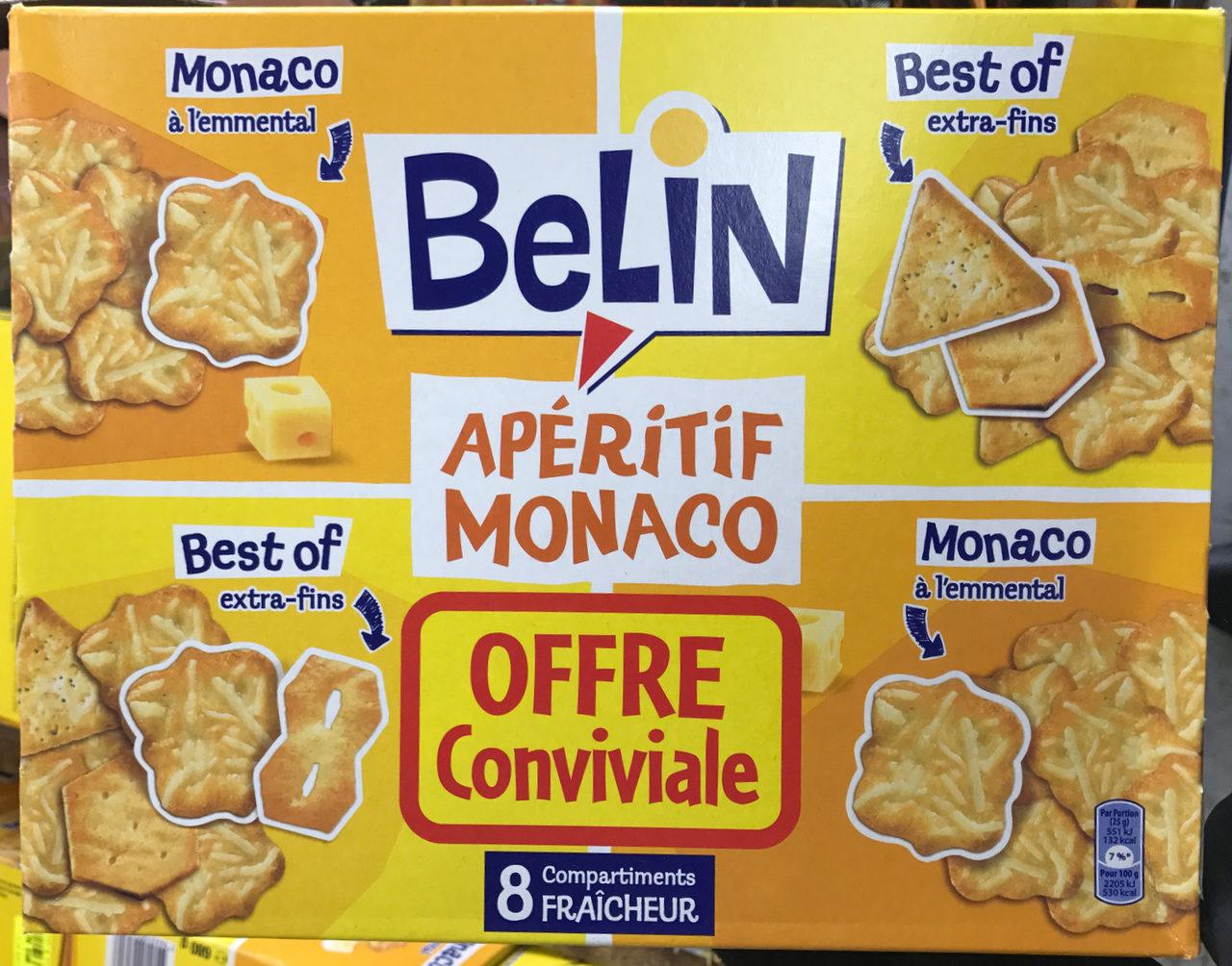 Apéritif Monaco (offre conviviale) - Product - fr