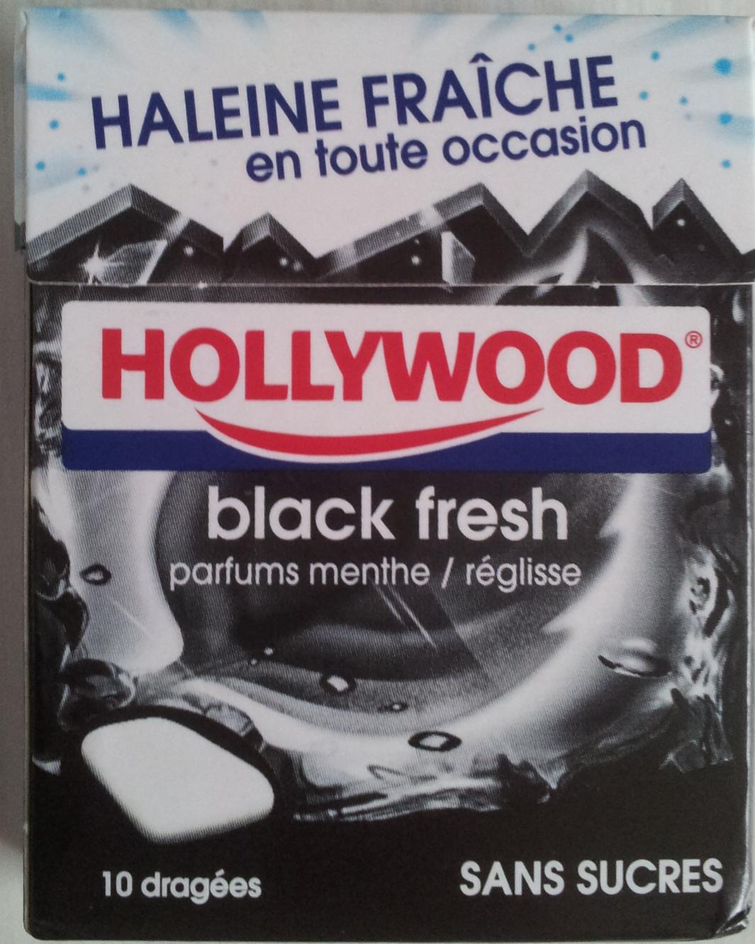 Black fresh - Hollywood - 14,5 g