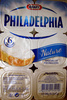 Philadelphia (6 portions) Nature (23,5% MG) - 100 g - Kraft - Produit