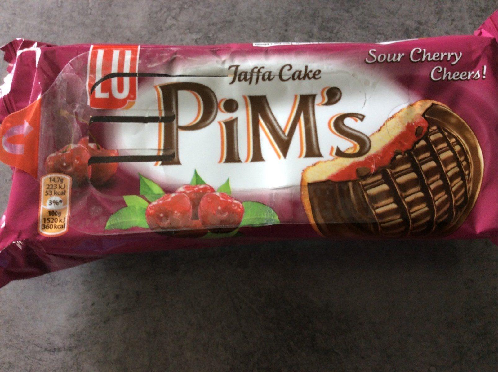 Pim's Jaffa cake - Produit - fr