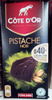 Chocolat extra noir de dégustation aux éclats de pistaches caramélisés - Prodotto
