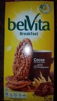 Belvita breakfast biscuits-breakfast cocoa with choco chip - Product - en
