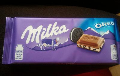 Milka Oreo - Produit