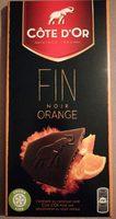 Tablette Dégustation Fin Noir Fin Orange - Product