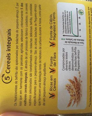 belvita petit déjeuner - Ingredientes
