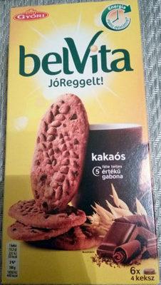 belVita jó, reggelt, kakaós - Product