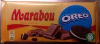 Mjölkchoklad Oreo Marabou - Produit - sv