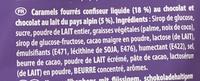 Choco Bonbon Caramel - Ingredients - fr