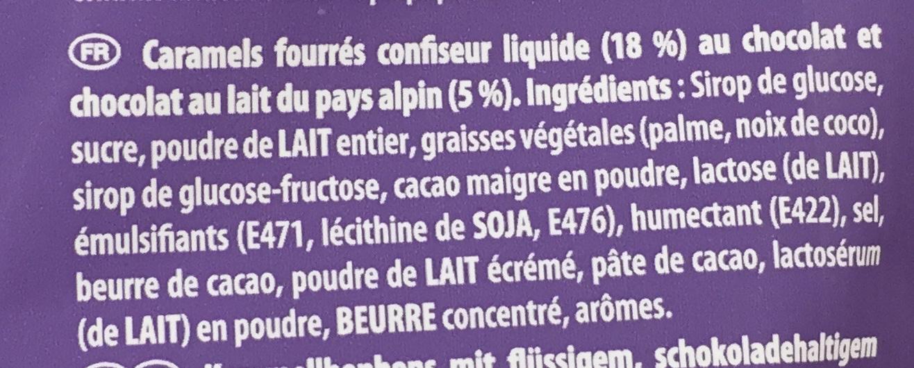 Choco Bonbon Caramel - Ingrédients - fr