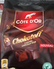 Chokotoff - Caramel enrobé de chocolat noir - Produit