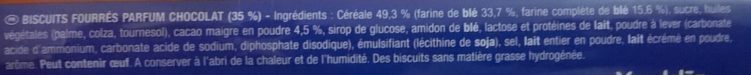 Prince goût Chocolat - Ingrediënten - fr