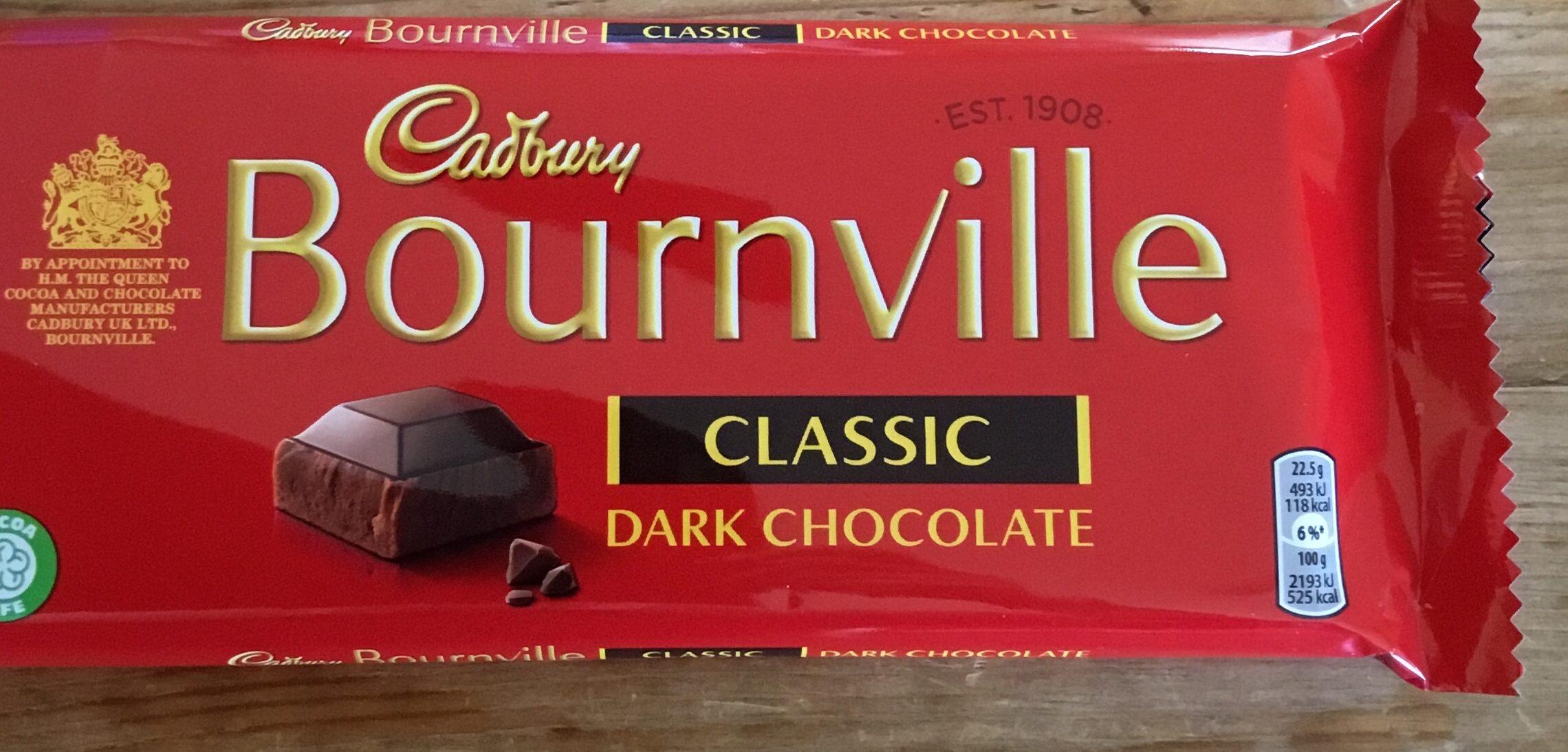 Bournville Dark Chocolate bar - Prodotto - en