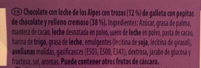 Chips ahoy! - Ingrédients - fr