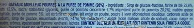 Lulu l'ourson Pomme - Ingrédients