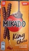 Mikado King Choco chocolat saveur Caramel - Produit - fr