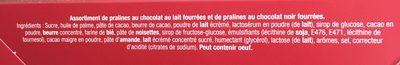 Marché de Noël - Cœurs fondants & Croustillants - Ingrédients - fr