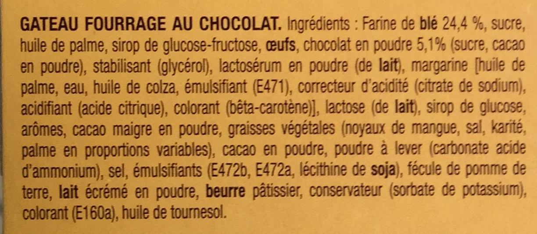 Napolitain le Gâteau - Ingrediënten - fr