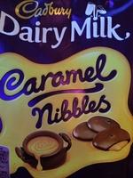 Cadbury dairy milk chocolate caramel nibbles - Prodotto - en