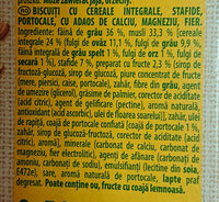 Belvita breakfast - Ingredients