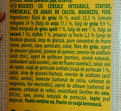 Belvita breakfast - Ingredients