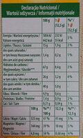 Belvita breakfast - Nutrition facts