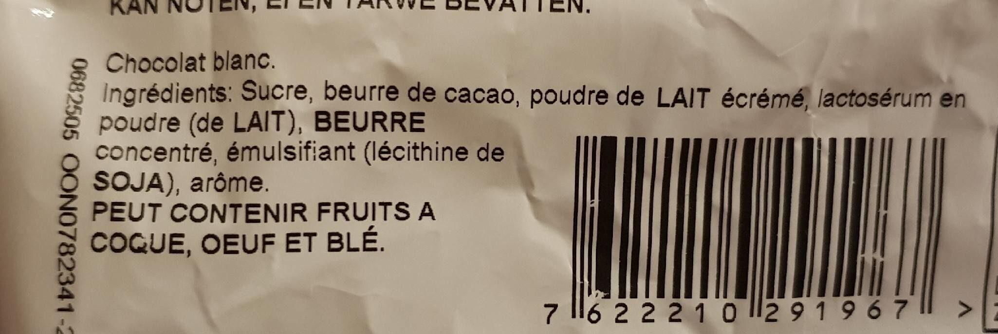 Oeufs milka blanc - Ingrediënten - fr